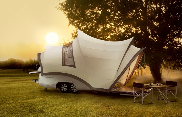 The Opera.  Not your average camper trailer.