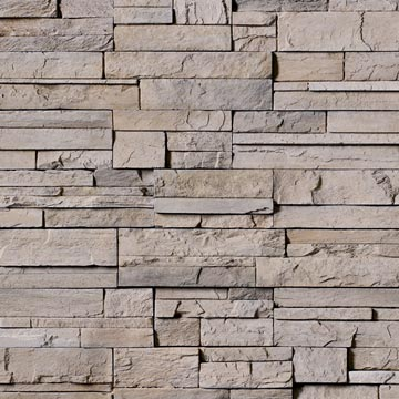 Stackstone cladding - for a feature wall on the front and rear facade of our house.