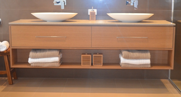 "We have added the ""Azumi's"" bathroom vanity to our ensuite, in lieu of the slightly dagga standard Rubix vanity."