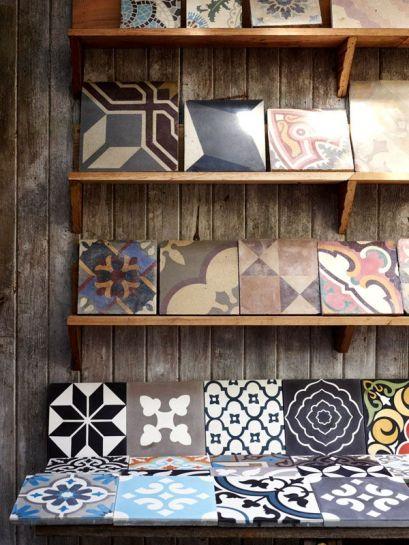 As assortment of tiles from Jantana Interiors.