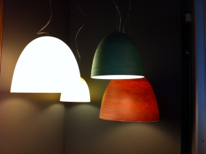 The only pendant lights in store that came close to tickling my fancy.
