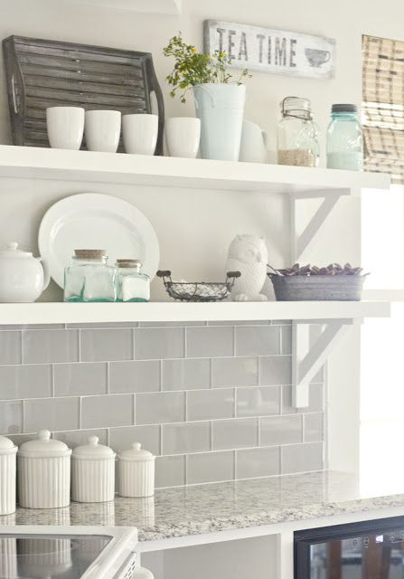 November 2013 house by the water for Subway tile splashback