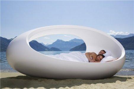 Egg bed.