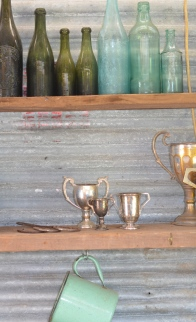 These trophies found their way from Bombay, India, to the Mount Beauty rubbish tip, to Mum and Dad's laundry shelf!?