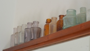 Bottles collected from Coolgardie Museum's lucky dip.
