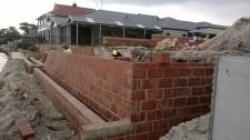 Retaining walls 3.