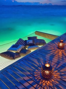 hammock off the dock