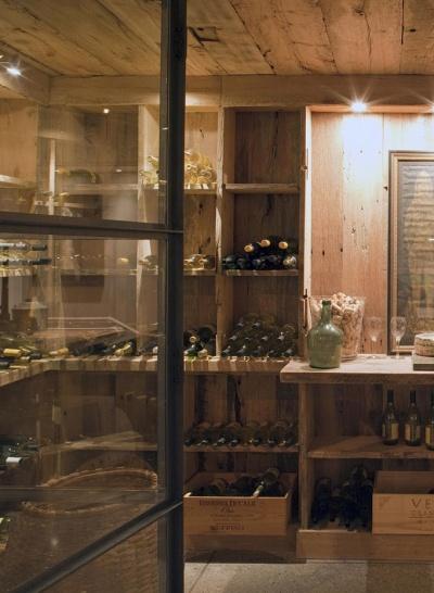 Wood cellar