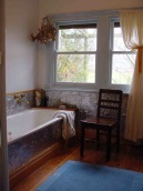 Farmhouse bath.