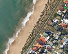 Ocean front location