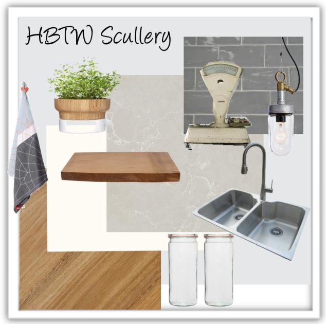 Scullery mood board