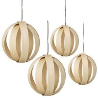 Birch baubles.
