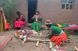 Copomaya weaving.