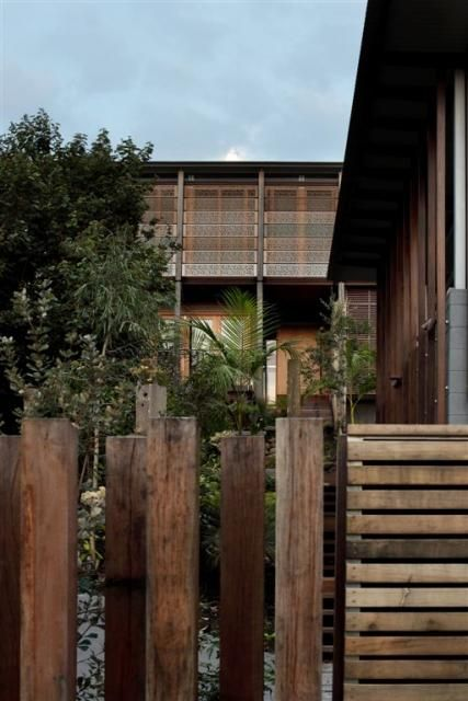 Modern Rustic Fence