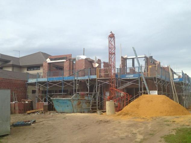Second storey bricks - week 2.