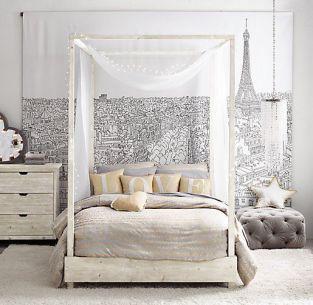 Paris Map bedroom