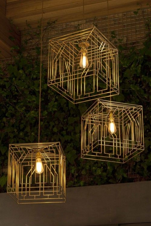 Pendant lights.  Source:  Arch Daily.