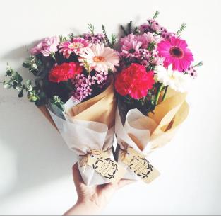 Little Petals bouquets $12