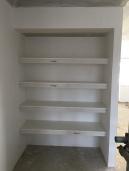 Upstairs linen cupboard.