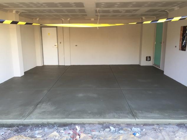 Grano garage floor.