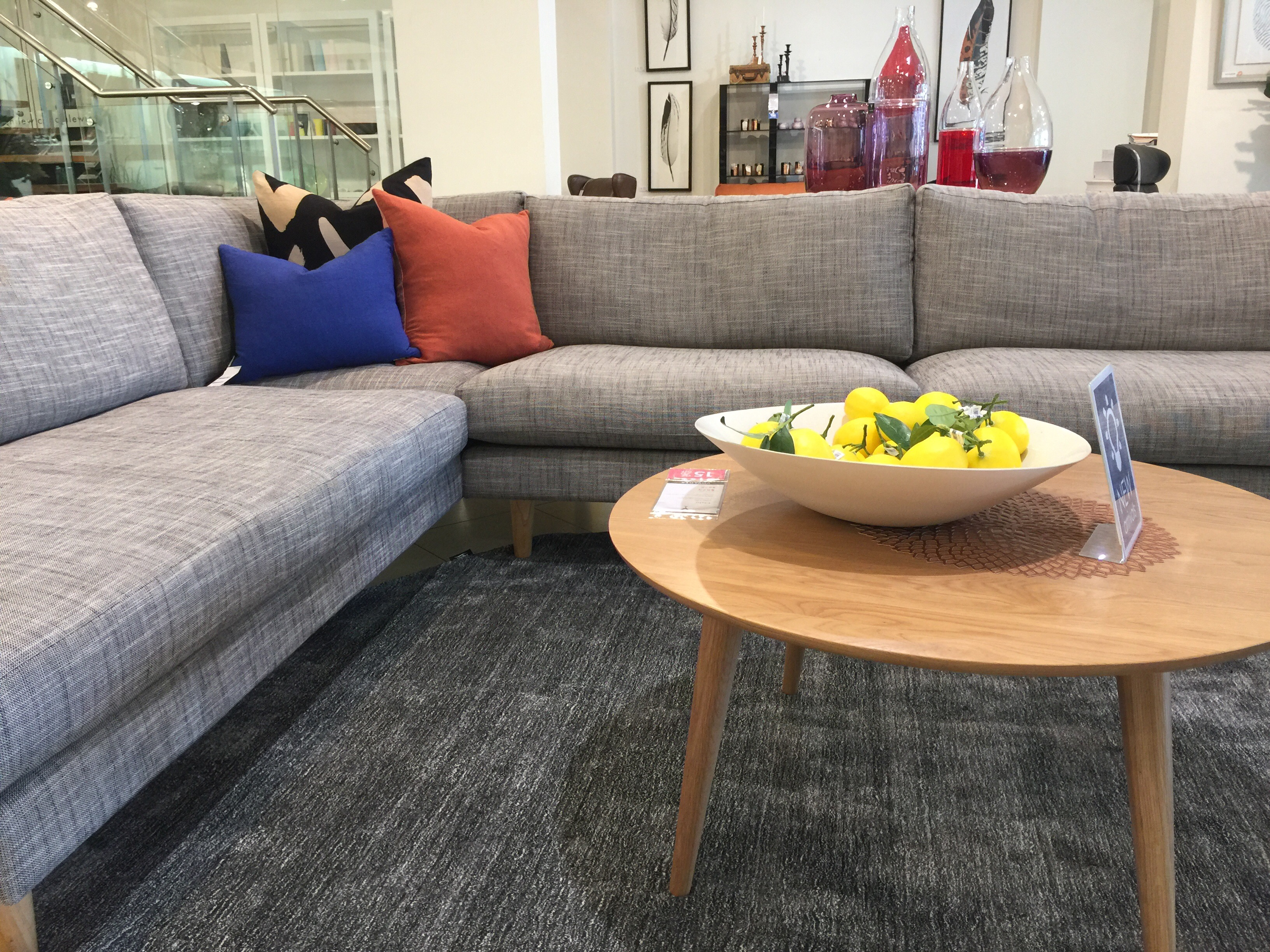 Voyager Interiors sofa