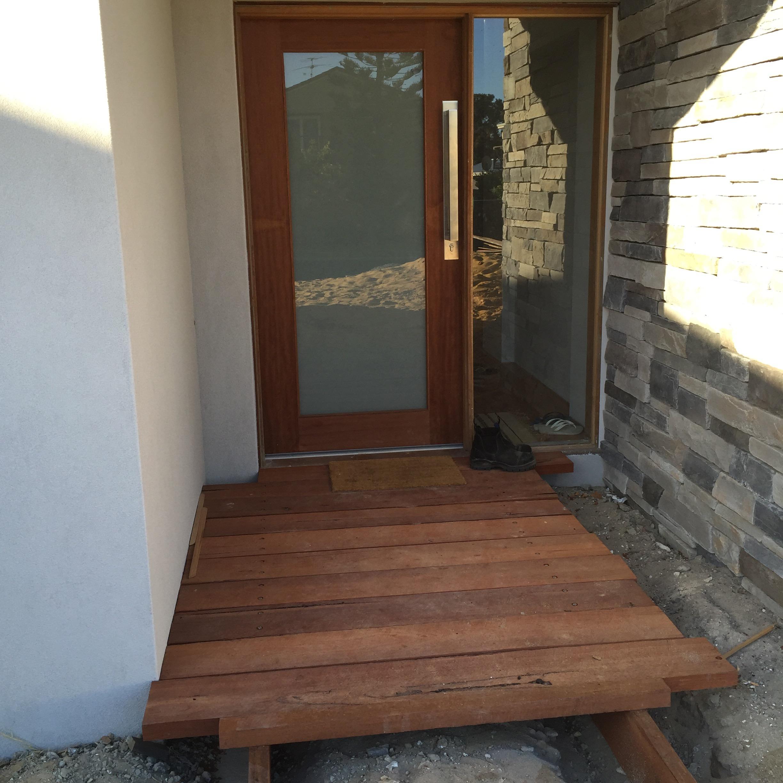 Jarrah entrance.