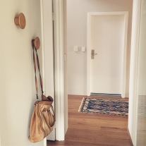 hallway hooks.